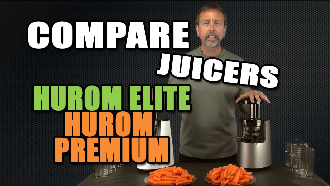 Hurom Slow Juicer Stopped Working : Comparison Hurom Elite Slow Juicer HH-SBB11 & Hurom Premium Juicer - YouTube