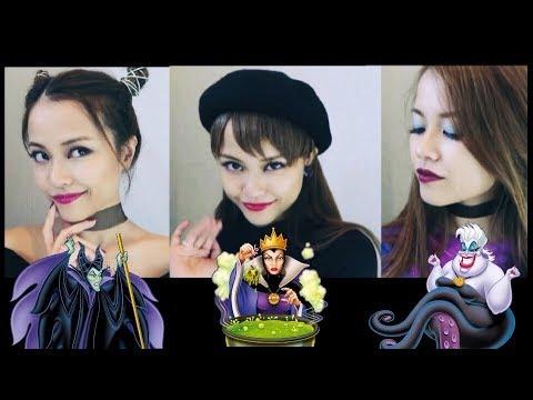 カジュアルヴィランズメイク😈💄DISNEY VILLAINS Inspired Makeup!