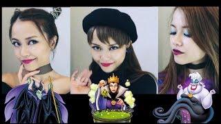 カジュアルヴィランズメイク😈💄DISNEY VILLAINS Inspired Makeup! thumbnail