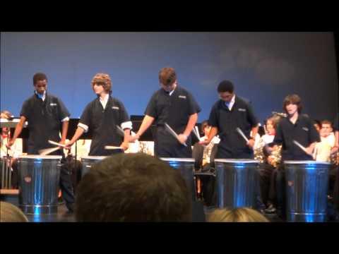 Fresh Trash- Fort Clarke Middle School Advanced Percussion