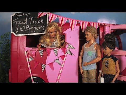 Food Truck - A Barbie parody in stop motion *FOR MATURE AUDIENCES*
