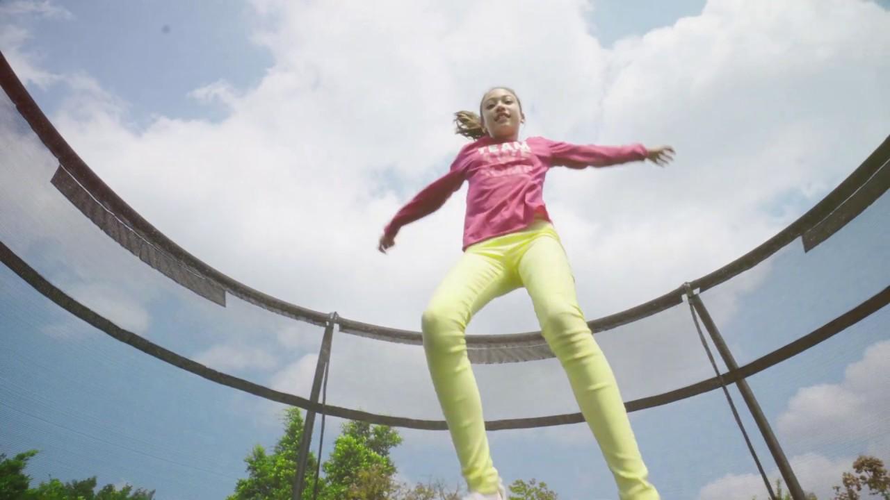 Välkända Rustas trampoliner Adrenaline Advanced - YouTube RE-52