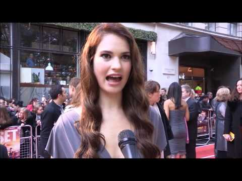 Fast Girls London film premiere interview from MarkMeets