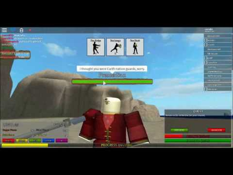 Avatar Legend Of Korra Roblox Game Roblox Avatar The Last Airbender Combustion Man Youtube