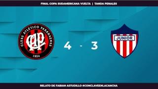EN VIVO | Final Copa Sudamericana Vuelta | Atlético Paranaense vs Junior | #ConclaveEnLaCancha