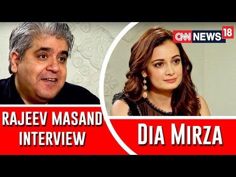 DIA MIRZA INTERVIEW WITH RAJEEV MASAND I KAAFIR