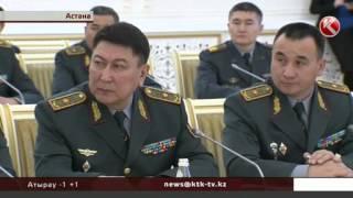 Нурсултан Назарбаев рассказал генералитету о специфике современной войны
