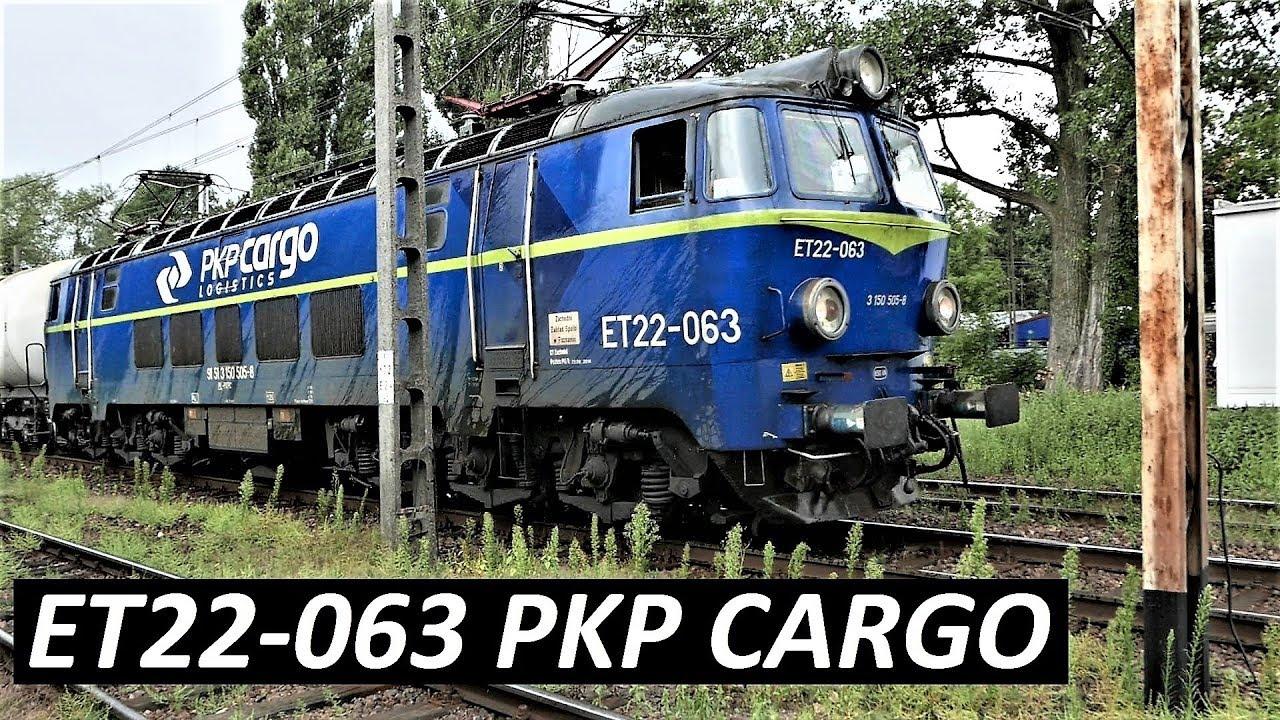 ET22-063 [Byk]  PKP CARGO Pociąg towarowy LONG TRAIN E20 Madryt – Moskwa