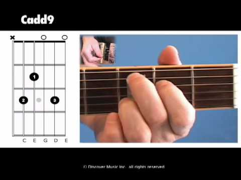 Open Am (guitar chord - lesson) - YouTube
