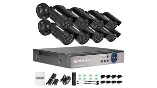 DEFEWAY Outdoor Surveillance Security Camera System FREE SHIPPING!