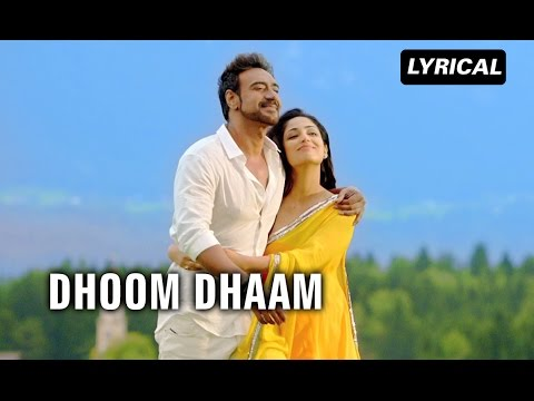 Dhoom Dhaam Lyrical Song  Action Jackson  Ajay Devgn & Yami Gautam