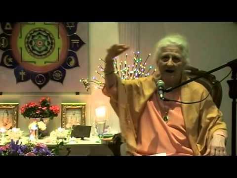 "(2014-02-18) Mataji from Yogaville: ""We plan - God laughs"""