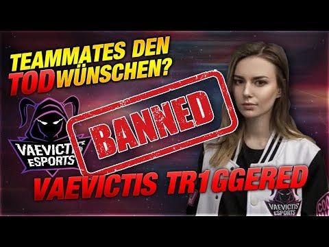 BANNED! Vaevictis Tr1ggered Wünscht den Teammates den Tod! [League of Legends] thumbnail