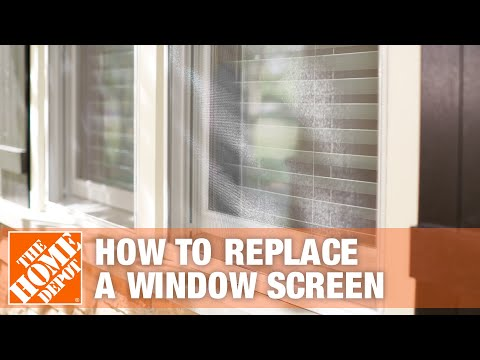 Phifer How To Replace A Window Screen