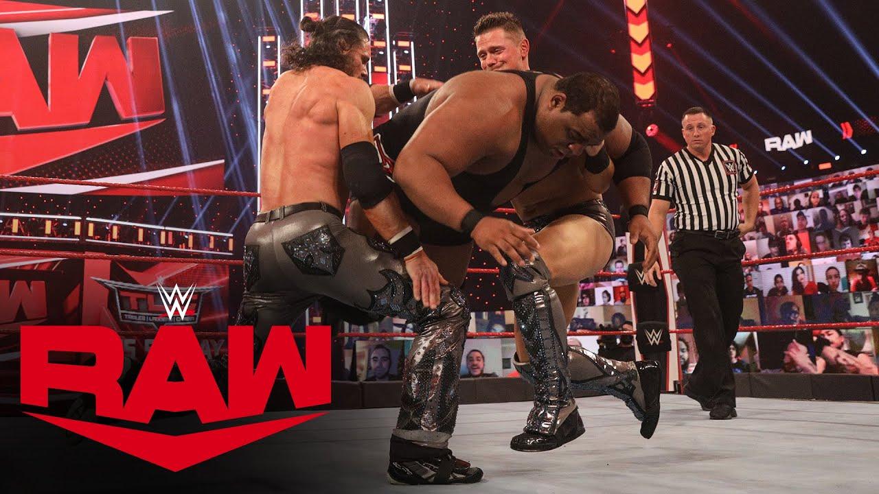 Keith Lee vs. The Miz & John Morrison – Handicap Match: Raw, Dec. 14, 2020