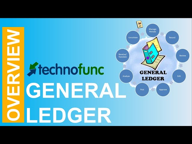 Introduction to General Ledger