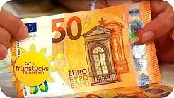 FÄLSCHUNG erkennen: So sicher ist der neue 50-Euro-Schein! | SAT.1 Frühstücksfernsehen | TV