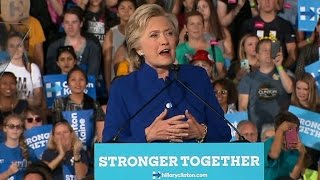 Full Video: Clinton rallies supporters at Arizona State University