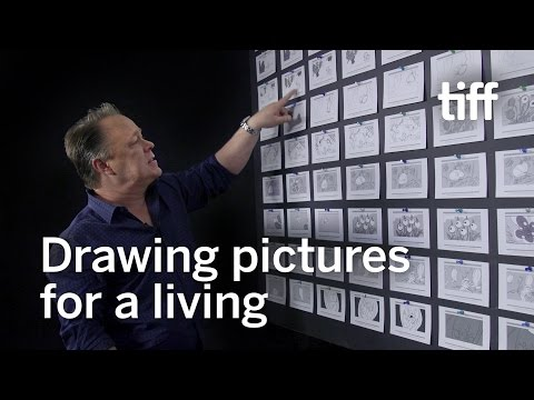 How to Storyboard a Scene with Smurfs Director Kelly Asbury | TIFF Kids 2017