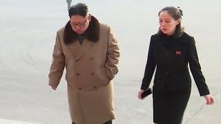 '최고 존엄'과 나란히.. 진정한 실세 김여정