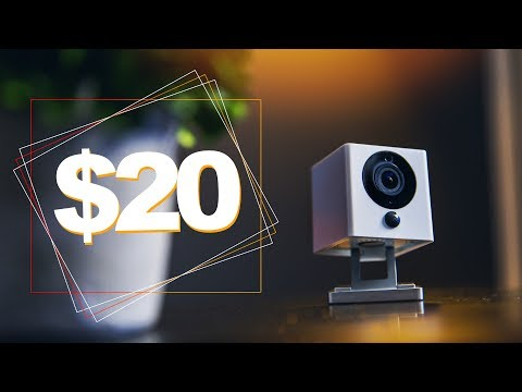 Wyze Cam Smart Home Security Camera ONLY $20!