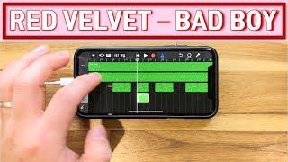 Red Velvet(레드벨벳)- 'Bad Boy' on iPhone/아이폰 (Garageband)