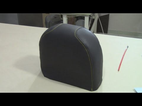 Sewing Tips on Rounded Pieces - Upholstery Basics