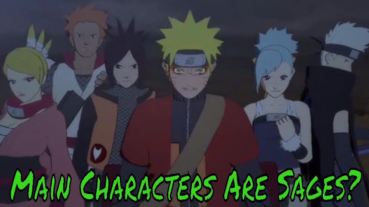 naruto online main characters are hidden sages youtube