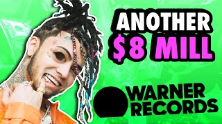 Lil Pump Finesses ANOTHER $8 MILLION Out of Warner Records