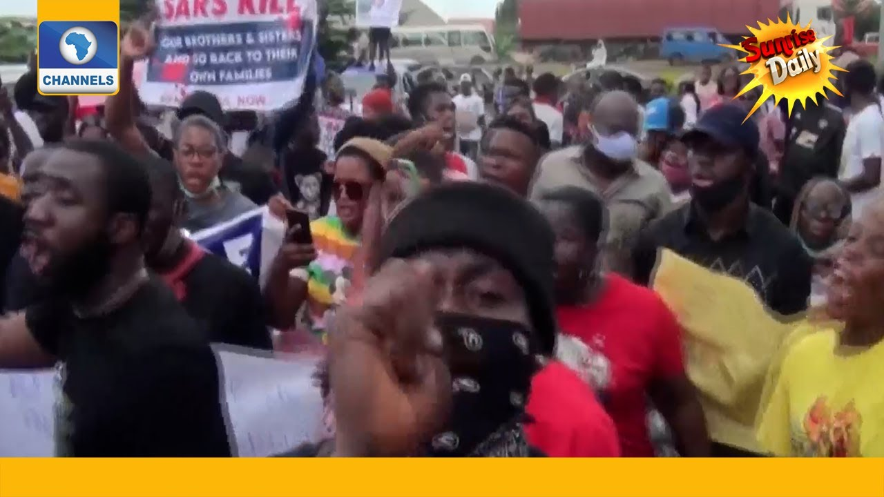 Download #ENDSARS Advocates Rinu, Others Demand End To Police Brutality