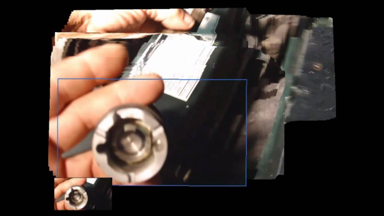 small resolution of installing a ford cam sensor cam syncronizer without the special tool youtube