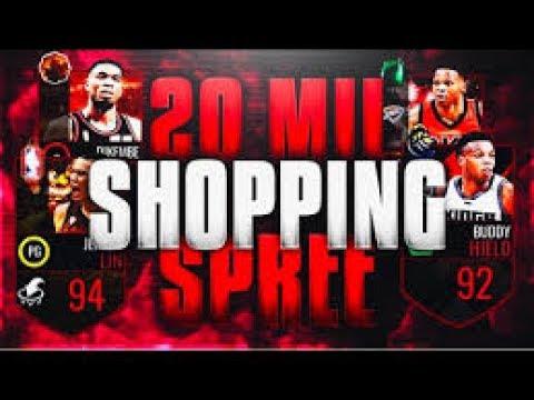 NBA LIVE MOBILE: 20 MILLION SHOPPING SPREE!!