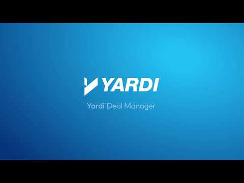 More Deals Close on Yardi: Deal Manager