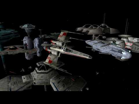 Star Wars X-Wing Alliance - Defend Shipyard (Cinematographic Style)