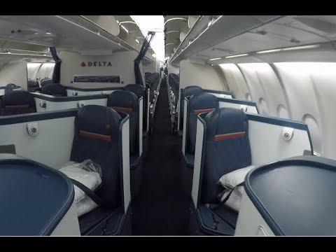 Delta A330-200 cabin tour (Comfort +)