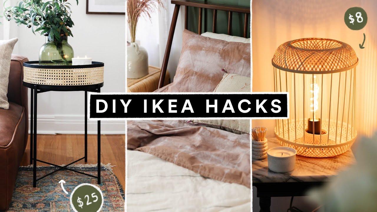 DIY IKEA HACKS - Affordable DIY Room Decor + Furniture Hacks for 2021!