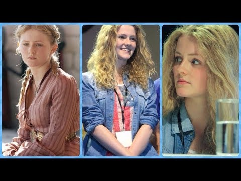 Aimee Richardson Myrcella Baratheon in Game of Thrones S1S2 Rare Photos  Family  Friends