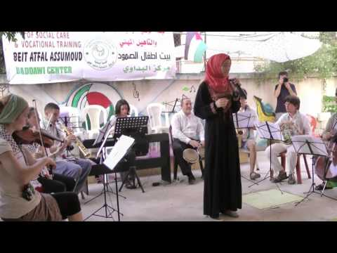 M&R Final Concert of the Community Music project Beddawi 14 August 2016