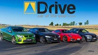 BMW M4 v M235i v Porsche Cayman GTS v HSV GTS Maloo | DCOTY 14