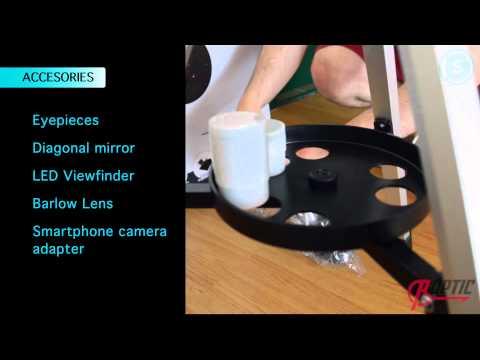 Telescope Arcturus Bresser   Roptic - hmong video