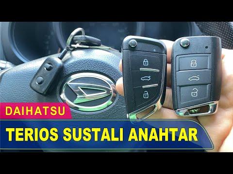 Daihatsu Terios Anahtar Yapımı | Yedek Kopyalama - Oto Anahtarcı İstanbul