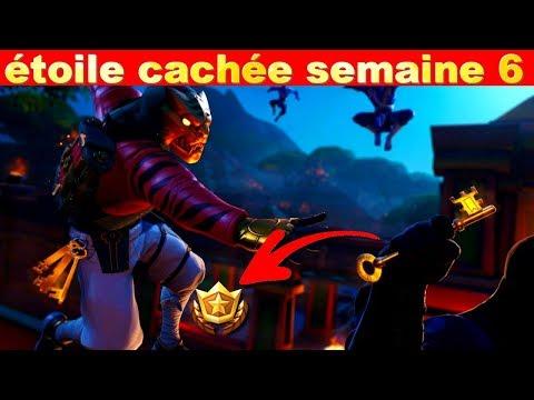 Étoile-cachÉe-semaine-6-saison-8-sur-fortnite-battle-royale-!