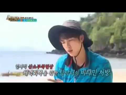 Jin get treated on Law of The Jungle