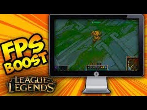 FPS Boost For League of Legends!(Low End PCs)