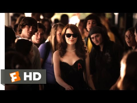 Emma Stone Scarlet Letter.Easy A 2010 Bad Reputation Scene 4 10 Movieclips