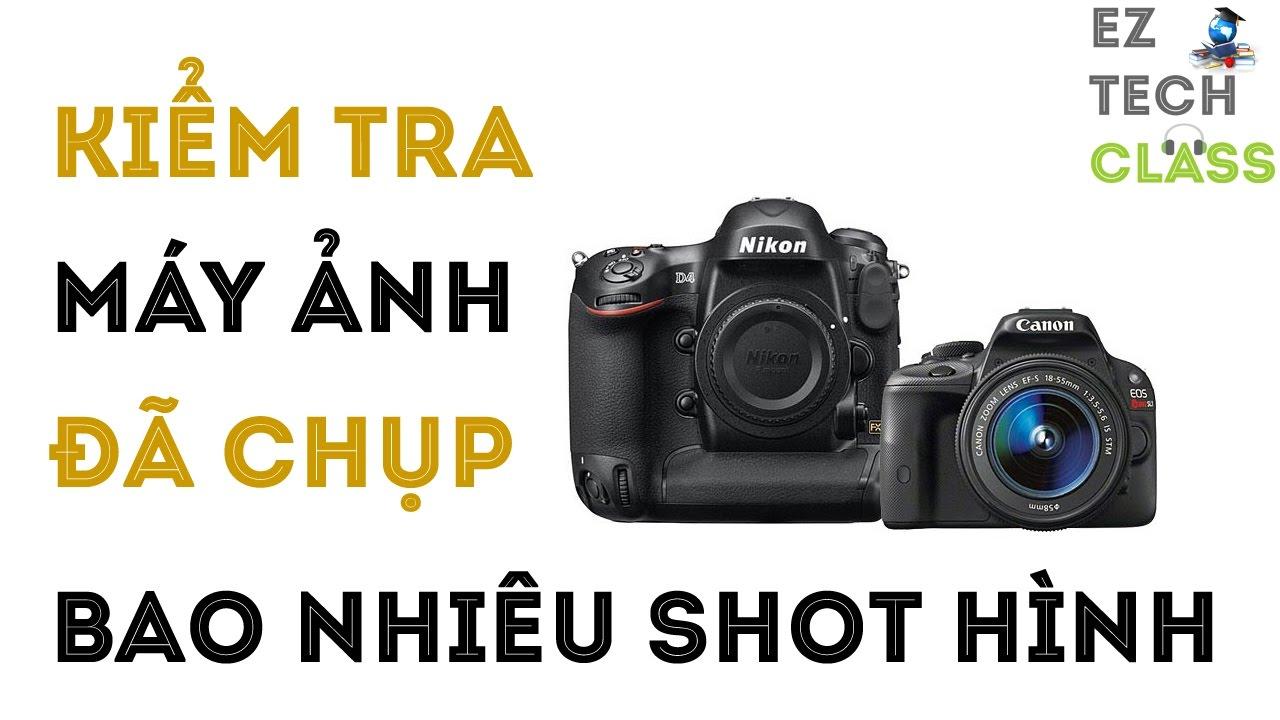 Đếm số lượng shot hình của máy ảnh với phần mềm Opanda