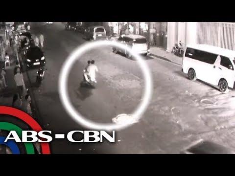 TV Patrol: Babae sa Taguig, binaril sa tabi ng mister, sapul sa CCTV