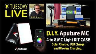 Aputure MC Light D.I.Y. Charging Case for 4 to 8 Lights