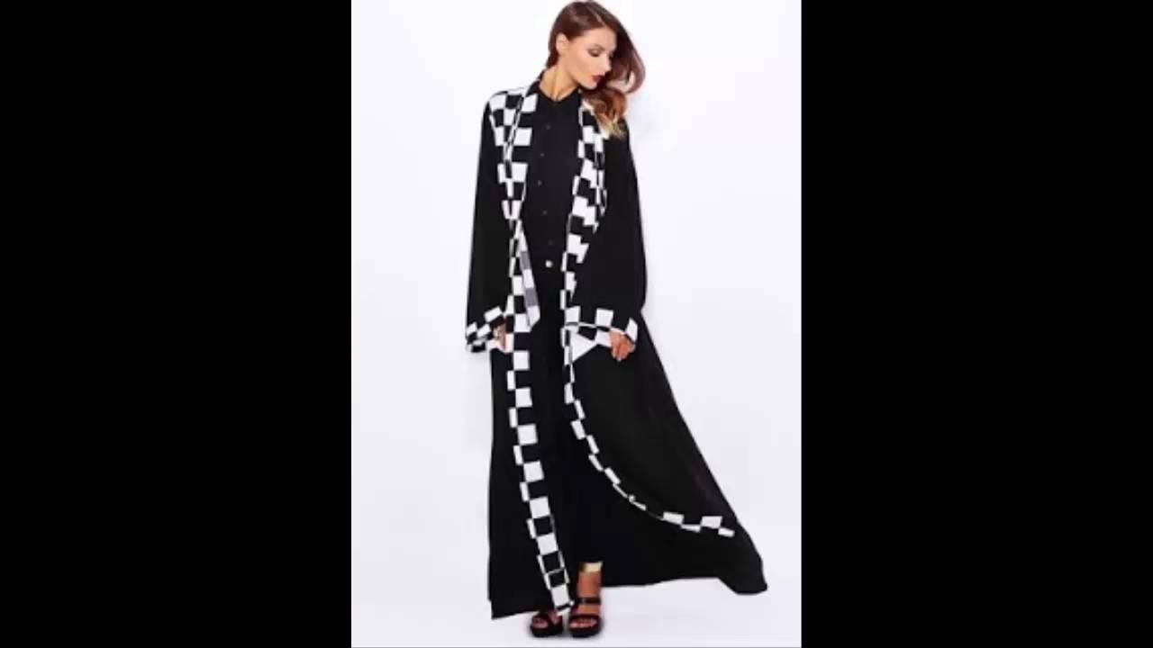 2469887c5 Arab Fashion - احدث عبايات خليجية 2015 - 2016 - New Abaya - Arab Fashion -  YouTube