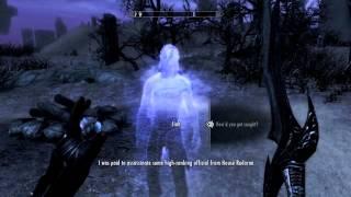 Skyrim: Dawnguard - Meeting Jiub from Morrowind in Soul Cairn